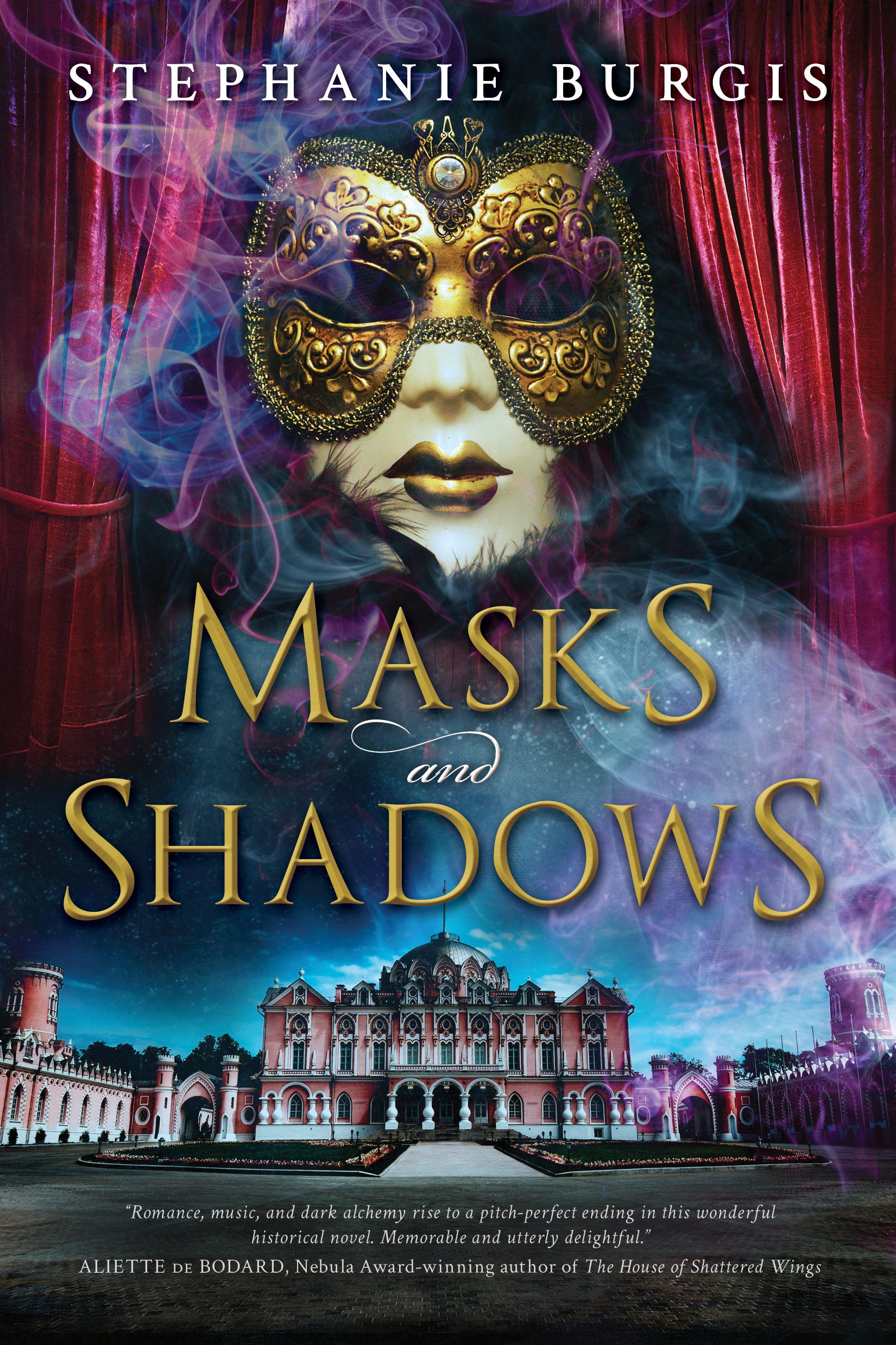 Cover For Masks And Shadows